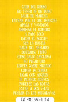 25 frases que se usan en España
