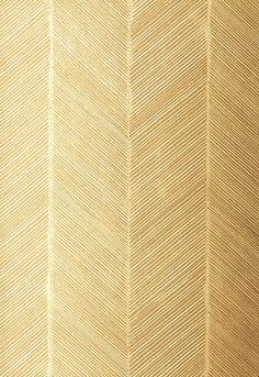 Schumacher wallpaper in Chevron Texture - White Gold. It always comes back to Schumacher