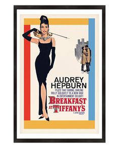 PTM Images 'Audrey Hepburn Breakfast at Tiffany's'
