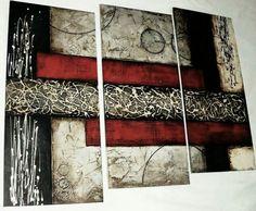 Diy Wall Art, Home Wall Art, Diy Art, Abstract Canvas, Canvas Wall Art, Creation Deco, Texture Painting, Acrylic Art, Modern Art