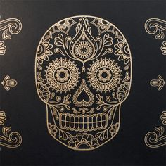 Sugar Skull Wallpaper for when i win millions...