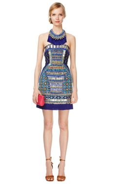 Embroidered Corset Dress by Matthew Williamson Now Available on Moda Operandi