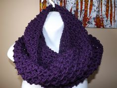 Pretty infinity scarf. Tutorial. Making this right now