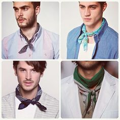 man neckerchief - Google Search