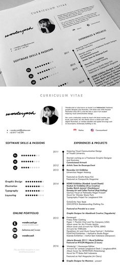 Free Simple Resume Template 22 Pinterest Simple resume - free template for resume