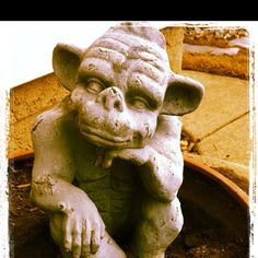 Me and my thing for gargoyles..