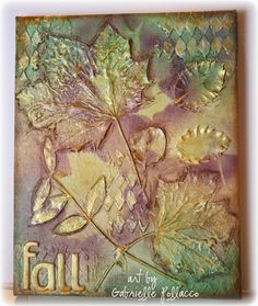 Mixed Media Fall Canvas