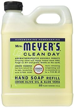Mrs. Meyer's - Clean Day Liquid Hand Soap Refill Geranium,33 oz,Honeysuckle.Honeysuckle //Price: $6.27 & FREE Shipping //     #hashtag3