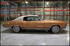 1972 Chevrolet Monte Carlo Looks just like my husbands car!