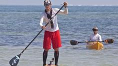 Ben Friberg paddle boards from Cuba to Florida