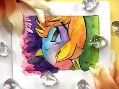 Let's draw Link from The Legend Of Zelda - 73 - Starlene Honey The Minish Cap, Gold Class, Tombow, Mechanical Pencils, Faber Castell, Legend Of Zelda, Fanart, Honey, Watercolor