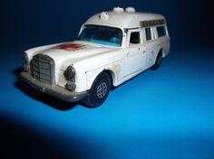 1970's Lesney Matchbox Mercedes Benz Ambulance Kingsize Speed Kings on Etsy, $10.00