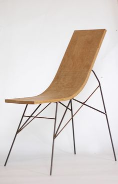 Wood bender: Bois Mou (Soft Wood) Furnishings by Jules Levasseur explore the the world of bentwood with a series of chairs and other sculptural objects, in a variety of shapes and species //