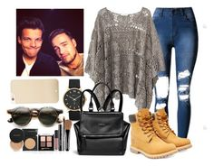 """Fun Day w/ Liam and Lou"" by direction-of-the-summer ❤ liked on Polyvore featuring Kate Spade, Marc by Marc Jacobs, Mes Demoiselles..., Givenchy, Timberland, ZeroUV and Payne"