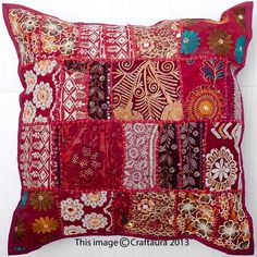 Throw Pillow Indian Decorative Ethnic