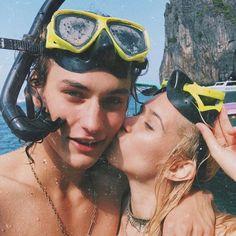 goals, couple, beach, summer