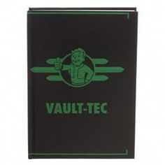 2f9e7414ec4dd Fallout Vault-Tec Journal Gift for Gamers - Fallout Accessories Stationary  Fallout Gift - Gaming