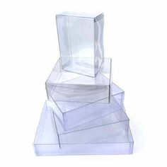 25 clear greeting card boxes 7 18 x 58 x 7 116 holds 7x7 clearplasticpackaging is very helpful to keep your material protected clear plastic packaging makes a m4hsunfo