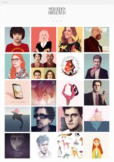 Mercedes DeBellard is a freelance illustrator who specializes in creating ultra-realistic and highly colored portraits of pop culture icons. How To Speak Spanish, Freelance Illustrator, Pop Culture, Portrait, Illustration, Movie Posters, Inspiration, Art Portfolio, Design Agency
