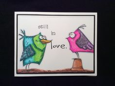 Those crazy birds by Bette - Cards and Paper Crafts at Splitcoaststampers