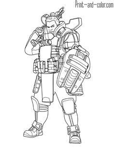 15 Best APEX LEGENDS COLORING PAGES images | Coloring ...
