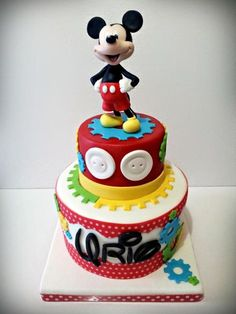 Mickey Mouse - Cake by giada