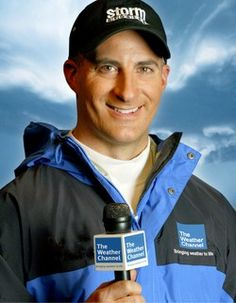 Jim Cantore of the Weather Channel.