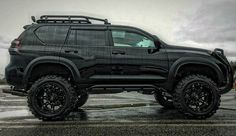 """""""Mounted on a monstrous set of off-road tires, the truck was tricked out with all the bells and whistles."""" The borrowed vehicle causes big trouble for Trapper. Toyota Autos, Toyota 4x4, Toyota Trucks, Toyota 4runner, 2006 4runner, Toyota Tacoma, Suv Trucks, Cool Trucks, Cool Cars"""