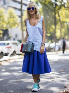 Best dressed at Paris Fashion Week - Street Style