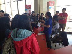 ¡Bienvenidos alumnos de Viña!