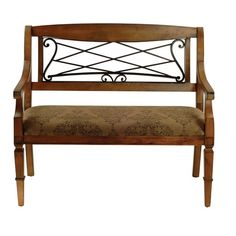 I pinned this Gramercy Bench from the Safavieh Furniture event at Joss and Main!