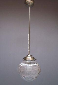 Art deco hanglamp Bol prismatic