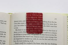 Christmas Magnetic Bookmark Page. Great for books, novels and Erin Condren Life Planner and other planners. planning accessories. www.trulysimpleplanners.etsy.com