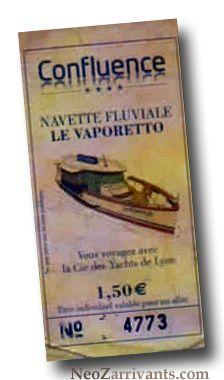 On est allé faire notre shopping à Confluence en Vaporetto ! La Dolce vita....  @NeoZarrivants -- http://www.neozarrivants.com/lyon/