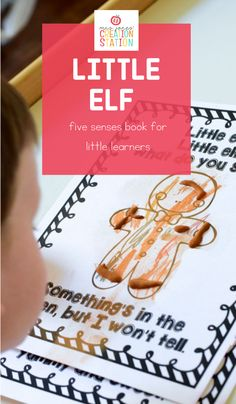 Your little learners will love this five senses book centered around the holidays! Add this Little Elf Five Senses book to your science unit for preschool and kindergarten for a fun holiday science activity. #preschool #kindergarten #holidayactivities #fivesenses #science Five Senses Preschool, Kindergarten Science, Preschool Kindergarten, Science Activities, Science Resources, Classroom Resources, Science Lessons, Science Experiments, Teacher Resources