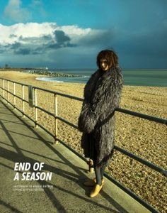 "Lucie von Alten by Nikolay Biryukov in ""End of a Season"" for Fashion Gone Rogue by heather"