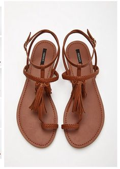 These shoes would be perfect for summer from forever 21