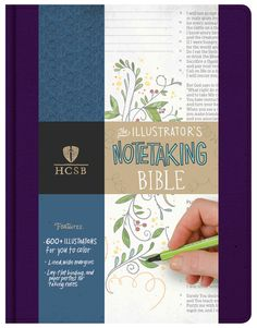 A Bible that combines two hot trends: Bible journaling and adult coloring. Each Bible spread contains a line-drawn illustration that can be filled in by the reader with whatever colors they choose. In