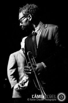 "didierleclair: ""RECIPE FOR PLEASURE… Roy Hargrove, great jazz playersource: pinterest.com """