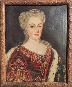 Red Velvet Dress, Blue Velvet, Daughters Of The King, Versailles, Baroque, Lily, France, Queen, Art Prints