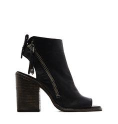 Dolce Vita Open Toe Stacked Heel Booties   Bloomingdale's
