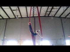 Aerial Silks Practice: The Metronome - YouTube