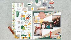 It's Game Time With This Staycation Scrapbook Layout – Creative Memories Blog Bubble Paper, Page Layout, Layouts, Virtual Games, It Game, Ready To Play, Creative Memories, Staycation, Paper Design
