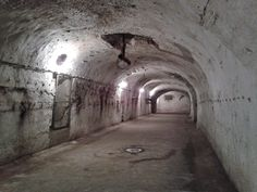 Underworld on Budapest. This cellar is 20 meters deep from the surface … Nowadays is empty.Here was the Dreher beer factory depot 100 years ago. The place was enough for 1000 track and more than 100000s beer barel.
