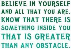 Believe in Yourself ... #Life_Quotes #Sayings #Inspiration