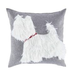 Tesco Scotty Dog Cushion from Tesco AW14 #grey #dog #cute #relief #soft #scotty