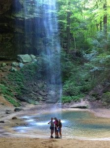 Exploring Ohio- Camping and Hiking in beautiful Hocking Hills State Park.
