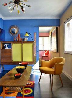 Jurnal de design interior - Amenajări interioare : Amenajare plină de culoare în 65 m²