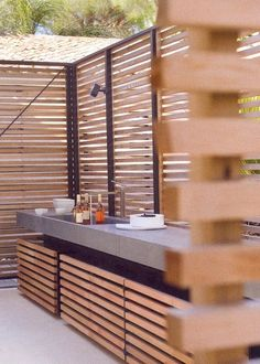 It is understandable kitchen's ambience is really essential to enhance our cooking mood and enliven the room nuance. However, when you feel bored with indoor kitchen style, outdoor kitchen ideas may be a solution to explore more things to do differently.  #outdoorkitchen #ideas #diy #onabudget #rustic #outdoor #kitchen #ideas #howtobuild #covered #layout #small #outdoor #kitchen #ideas #pool #patios #awesome #simple #bbq #backyards #cheap #with #fireplace