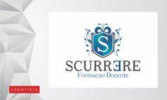 Logomarca desenvolvida para a escola de educação online Scurrere - Formação Docente